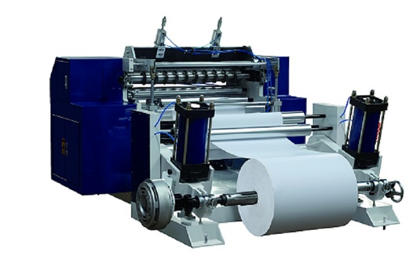 China Manufacturer Automatic POS Thermal Paper Slitting Machine