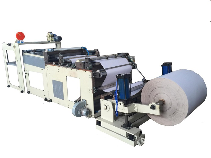 DFJ1300B Automatic Roll Sheet Cutting Machine for self adhesive sticker paper